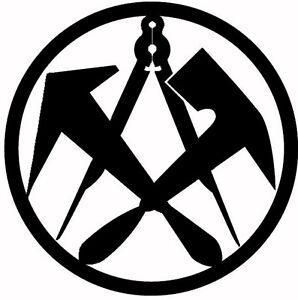 Dachdecker symbol  DACHDECKER, das ZUNFTZEICHEN aus 3mm STAHL, ab 46 ...