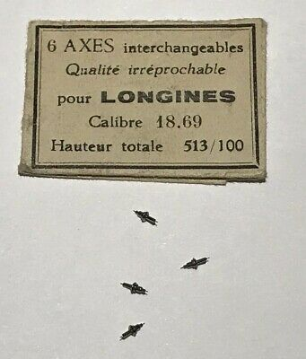 AXE DE BALANCIER MOUVEMENT VENUS 170 @ BALANCE STAFF MOVEMENT VENUS 170 NOS N2