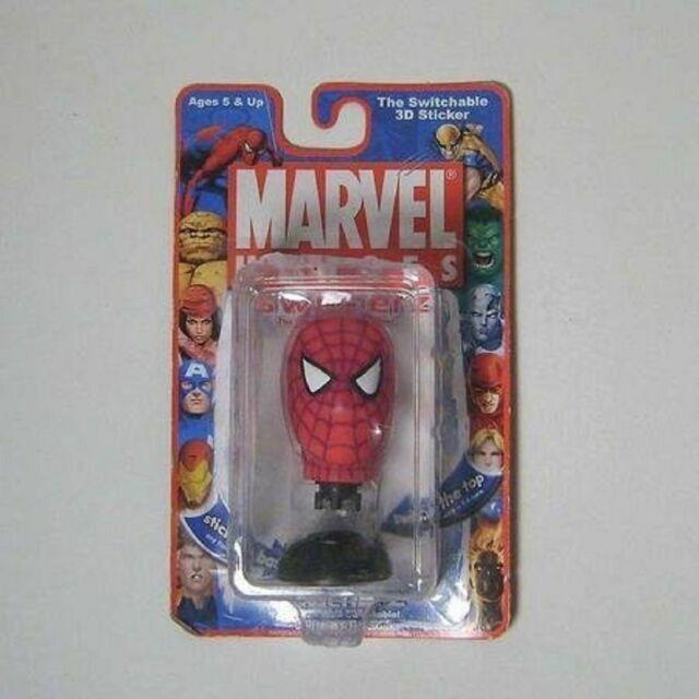 Set of 4 Swicherz Heads Wolverine Green Goblin Beast Spiderman X-men