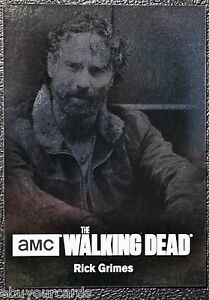 Walking-Dead-Season-4-Silver-Foil-Numbered-Parallel-Chase-Trading-Card-C01-63-99