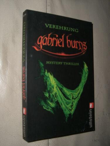 1 von 1 - Gabriel Burns: Verehrung