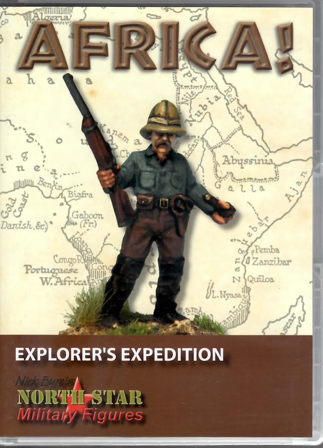 últimos estilos Estrella Estrella Estrella Del Norte figuras militares 28mm Metal  África  Explorer's expedición (26)  alta calidad