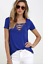 Sexy-Fashion-Women-V-Neck-Short-Sleeve-T-shirt-Casual-Loose-Blouse-Tops-Tee-2019 thumbnail 4