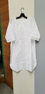 African-clothing-for-men-Dashiki-M-5X-white-embroidery