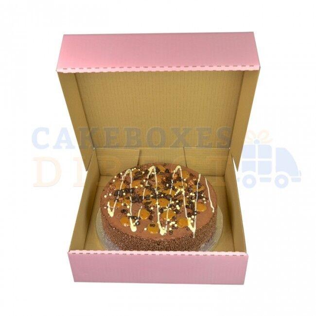 11.5 x 11.5 11.5 11.5 x 3 INCH Rosa CORRUGATED BOX CHEAPEST ON EBAY CHOOSE YOUR QUANTITY 9c516a