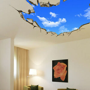 Image Is Loading Removable Window Vinyl Kid 3D Wall Art Stickers  Part 2