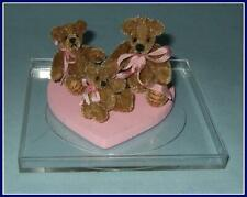 "World Of Miniature Bears Dollhouse Miniature 5/"" Easter Bunny Rabbit #5070CR"