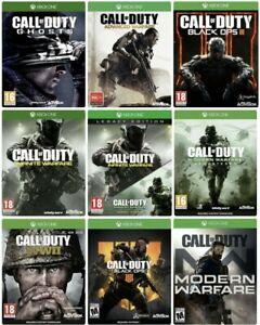 Call-of-Duty-COD-Black-Ops-3-4-WWII-IW-Infinite-Advanced-Warfare-Ghosts-Xbox-One