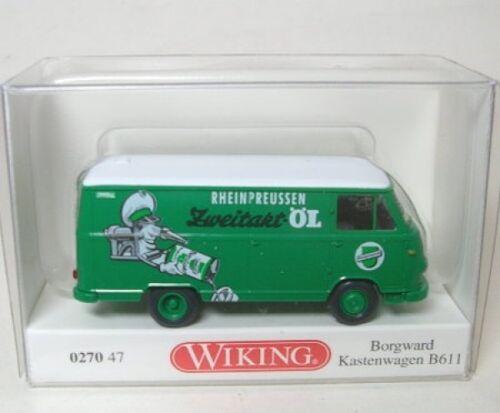 Borgward B611 Rheinpreussen Öl