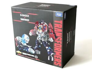 Japan Rare Takara Tomy Transformers Master Optimus Prime Non G-Shock Model MISB