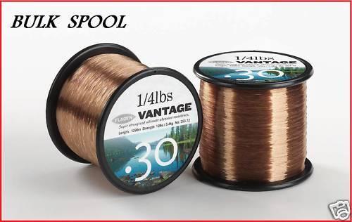Vantage Bulk Spool Carp fishing Brown Line 1488 m  10lb
