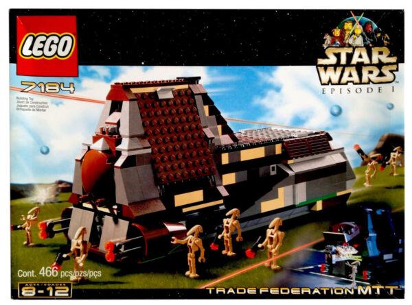 Lego Star Wars Trade Federation Mtt 7184 Ebay