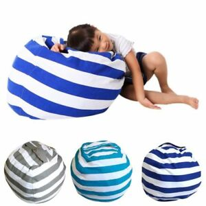 Kids-Stuffed-Animal-Toy-Storage-Bean-Bag-Cover-Bean-Bag-Cover-Chairs-Gifts-UK