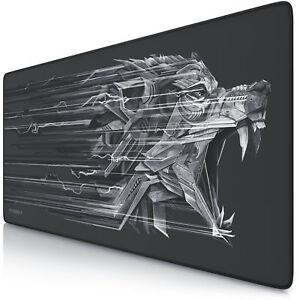 Titanwolf-Gaming-Mauspad-900-x-400mm-Tischunterlage-rutschfest-XXL-NEU
