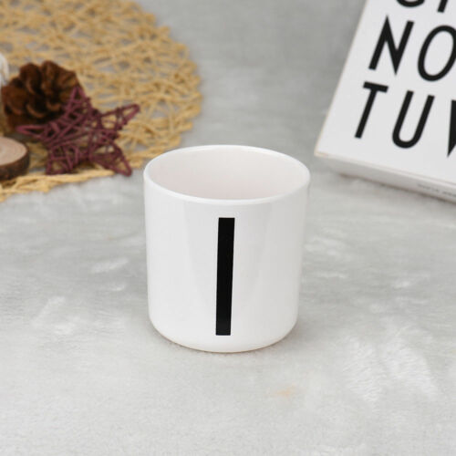 Popular Simple Style Alphabet A-Z Practical Milk Drink Letters Design Mug Cup