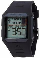 Rip Curl Rifles Tide Black Silicone Quartz Digital Men Watch A1119-BLK