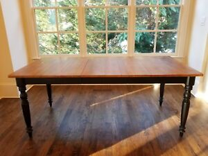 Details about Ethan Allen - Miller Dining Table