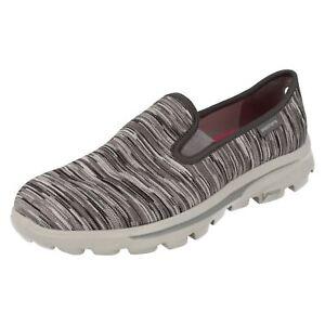 Grey Slip Ladies Pumps 13791 Obscure On Skechers Casual w0qS5xd114