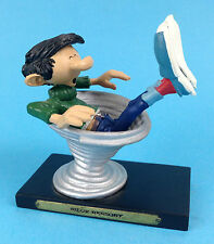 Gaston Lagaffe SIEGE A RESSORT  Franquin 2004 figurine BD comic