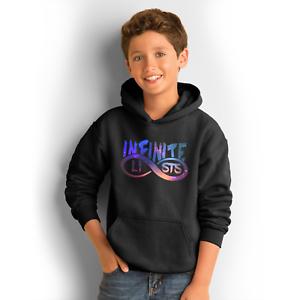 Infinite Army Kids Hoodie Youth Infinite Lists T Shirt Youtuber Merch Gamer Top