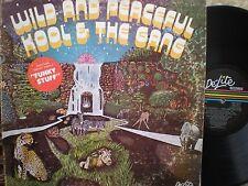 KOOL & THE GANG lp WILD AND PEACEFUL DE-LITE DEP-2013 ORIGINAL FUNK