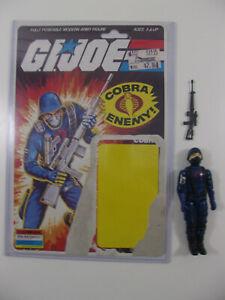 Vintage Cobra Gi Joe Arah 1983 Soldat V1.5 Complet Complet Carte Uncut