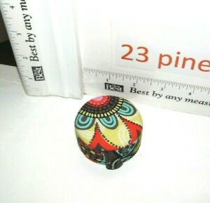 Vera Bradley Small 3 Keepsake Box Pills Coin Trinket Jewelry Flower Shower New Ebay
