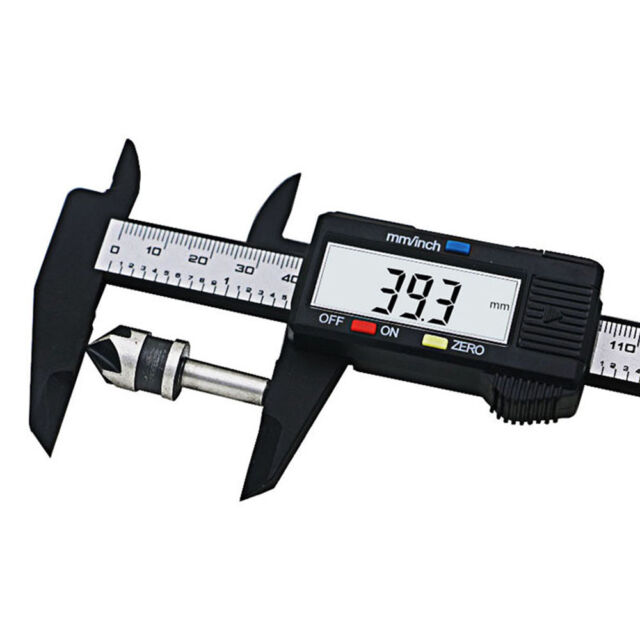 6 inch LCD Digital Electronic Delicate Vernier Calipers Metric Measuring Tool f