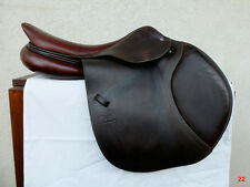 "SALE!! 2011 CWD Luxury French Jumping Saddle Gorgeous Brown 17.5"" Narrow Tree"