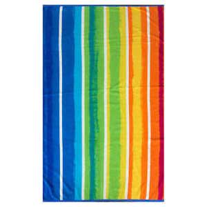 Rainbow-Stripe-Multi-Color-Spa-Ocean-Beach-Towel-40-034-x-72-034-by-Resort-Living