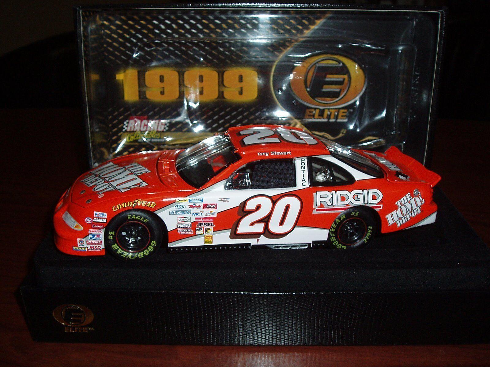 Tony Stewart 20 Home Depot 1999 ROOKIE Pontiac Elite 371 1000
