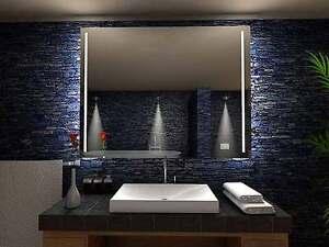 Bagno granville m illuminazione led specchio per il muro ebay - Illuminazione led per specchio bagno ...
