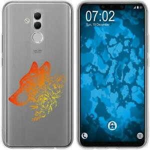 Huawei-Mate-20-Lite-Coque-en-Silicone-floral-M3-2-Case-films-de-protection