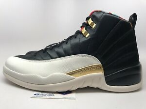 best loved 149dd 12000 Details about Nike Air Jordan 12 XII Retro 'Chinese New Year' 2019 Mens sz  10.5 New!