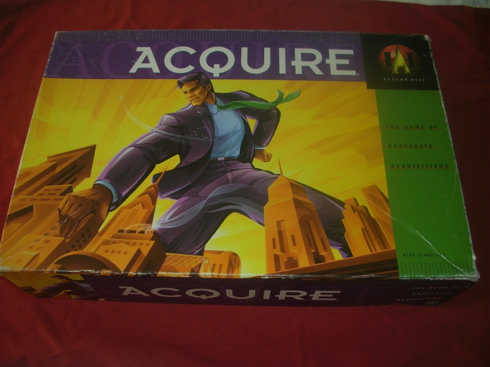 ACQUIRE --Game of Corporate Acquisitions-Avalon Acquisitions-Avalon Acquisitions-Avalon Hill-1999 bb469c