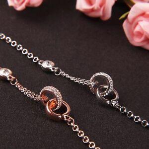 Cross-Double-Ring-Bracelets-Rhinestone-Bracelets-Female-Jewelry-Fashion-Gifts