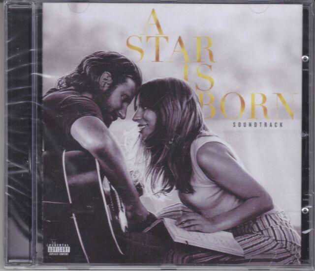 CD Audio LADY GAGA BRADLEY COOPER - A STAR IS BORN - O.S.T. nuovo sigillato