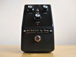 Moog-MF-Boost-Guitar-Pedal-Rare-Discontinued