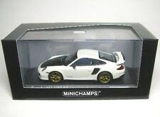 PORSCHE 911 (997 II) GT2 RS (WHITE / GOLD WHEELS ) 2010