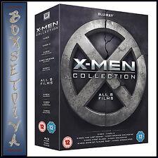X-MEN COLLECTION - ALL 8 FILMS  **BRAND NEW BLURAY BOXSET**