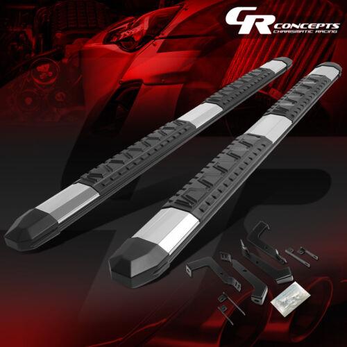 "FOR 02-09 DODGE RAM 4DR CREW CAB//QUAD 5/""ALUMINUM NERF STEP BARS RUNNING BOARD"
