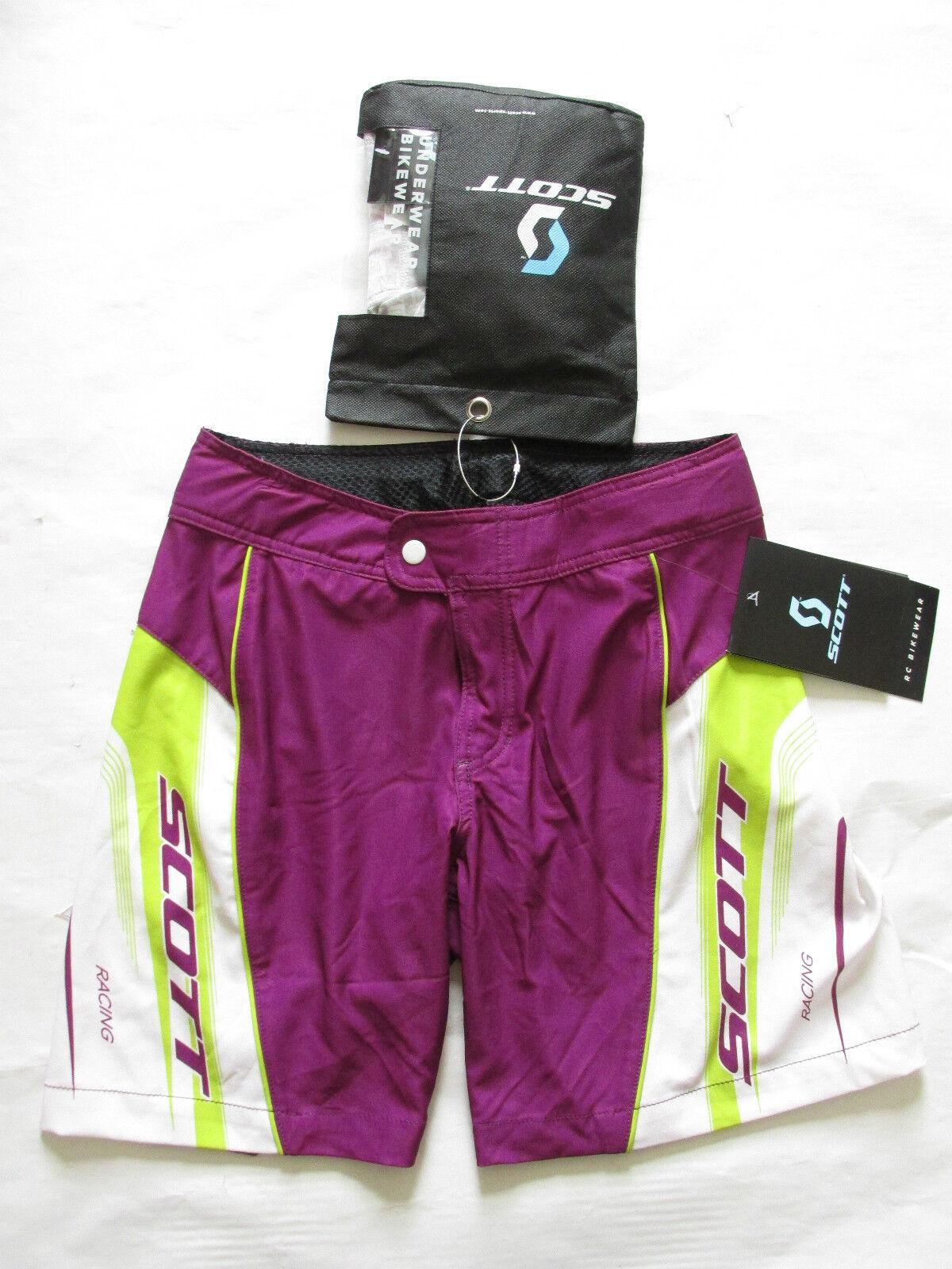 Scott Ropa Ciclismo Mujer RC  Ajuste Holgado Pantalones Cortos con Acolchado  salida
