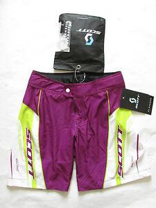 Scott-Bikewear-Damen-Rc-Legerer-Schnitt-Radsport-Kurz-mit-Gepolstert-Unterwaesche