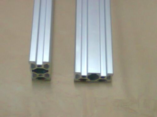 "/<60/"" Aluminum T-slot 2040 extruded profile 20x40-6 Length 1500mm 2 pieces set"