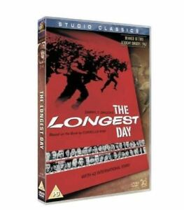 The-Longest-Day-1962-Classic-War-Film-ALL-REGION-New-Factory-Sealed
