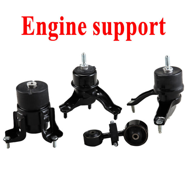 4 Pc Set 04-08 Solara 2.4L AT Engine Mount For 02-06 Toyota Camry
