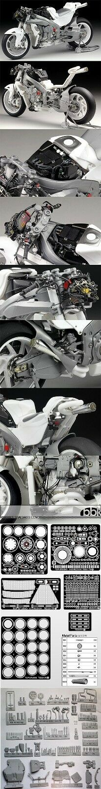 1 12 HONDA RC213V 2014 MULTI MEDIA SUPER DETAIL UP SET for TAMIYA