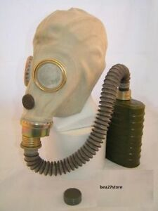 MUA ZsM41M GAS MASK & VOICE CHAMBER, FILTER, HOSE AND WATERPROOF BAG- NOT GP5