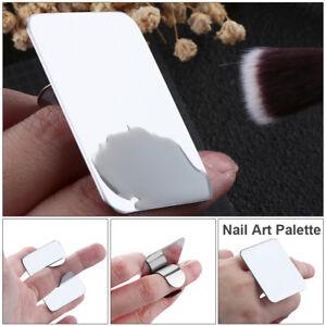 Palette Nail Art Mini Finger Inox Vernis à Plateau Ongles à Dessin