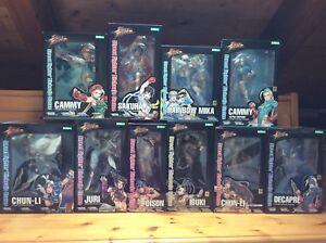 Kotobukiya Bishoujo Street Fighter 10 nouvelles statues Chun-li Cammy Juri Decapre
